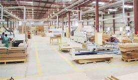 производство фанеры в Китае